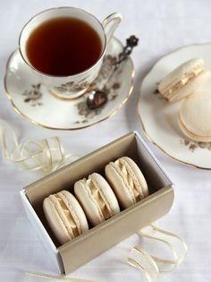 tea time + macaroons