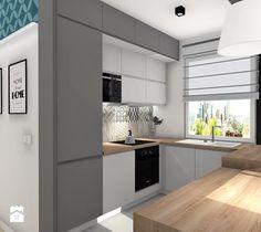 Aranżacje wnętrz - Kuchnia: Mieszkanie w Rzeszowie II - Kuchnia - MN Pracownia Projektowa. Przeglądaj, dodawaj i zapisuj najlepsze zdjęcia, pomysły i inspiracje designerskie. W bazie mamy już prawie milion fotografii!