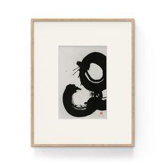 Zen Circles · Original Sumi ink drawing on Xuan rice paper, showing severals Ensos (Japanese Zen circles) · 20 x / 40 x including mat Sumi Ink, Art Series, Rice Paper, Circles, Original Artwork, Zen, Batman, Stamp, Japanese