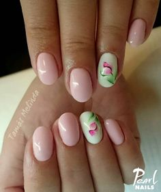 Nails, Pink, Beauty, Beleza, Ongles, Nail, November Nails, Rose, Sns Nails