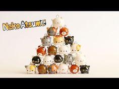 Neko Atsume Tsum Tsums?!│Shop Update #5.5 (Polymer Clay Charms) - YouTube