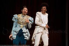 The Two Gentlemen of Verona Celeste Den, Christiana Clark. Theatre Stage, Theater, Elizabethan Theatre, Shakespeare Festival, Verona, Gentleman, Two By Two, Ruffle Blouse, Female