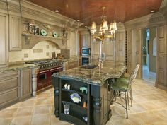 Mind blowing Traditional Kitchen Design with will surprise your guests.