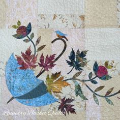 Laundry Basket Quilt of the Day - Rainy Day Trio
