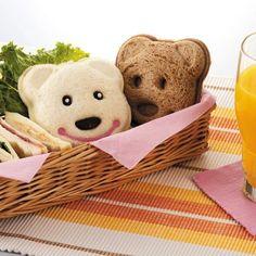 Bear Sandwich Mold - SO fun!!