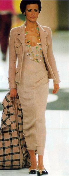 Nadege du Bospertus Chanel F/W 1996/1997