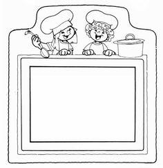 dibujos de niños cocineros para colorear Buscar con Google Recetas de cocina para niños Cocina para niños taller de Dibujos para niños