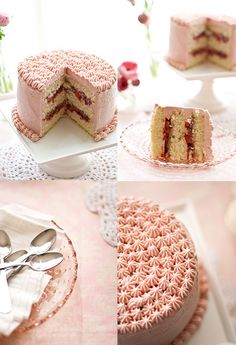 strawberrycakecollage by cindychae, via Flickr