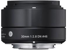 Sigma 30mm f/2.8 (A) EX DN fekete objektív, Sony MILC- hez vásárlás - artwork.hu