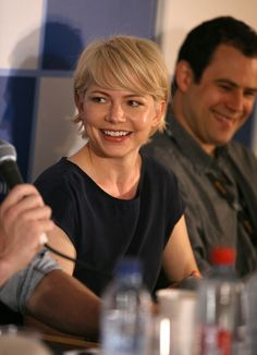 Seriously thinking about chopping my hair off.  Kind of loving Michelle Williams' hair.