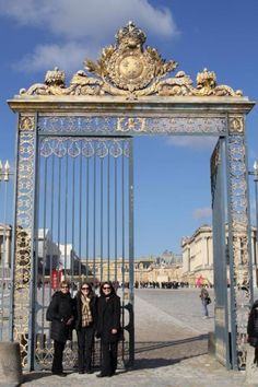 At the gates of Versailles