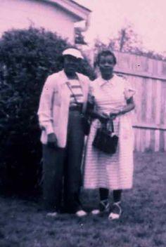 1940s-Mabel Hampton and Lillian Foster, Mabel Hampton and Lillian Foster