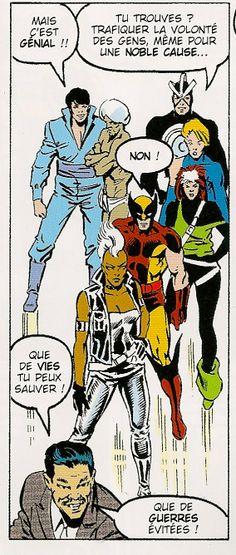 Xmen vs Avenger n°4