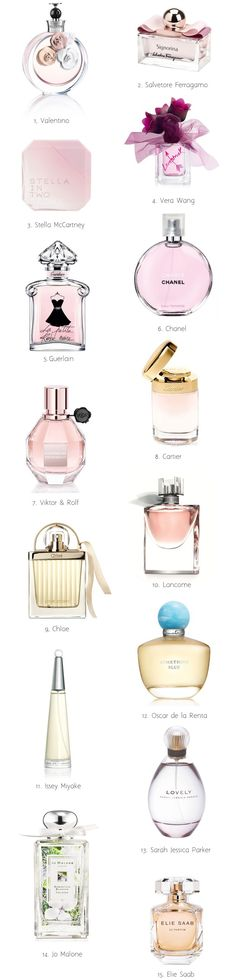 15 Oh So Fabulous Wedding Perfumes - Find out what we chose for our fave fragrances for your Big Day over on weddingsonline.ie!