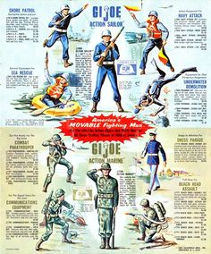 Vintage GI Joe advertising
