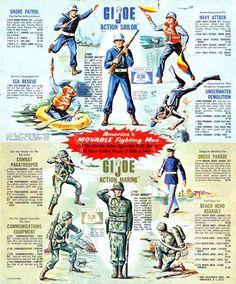 Vintage GI Joe advertising