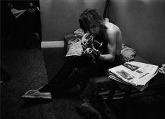 Joe Walsh - Kent, Ohio, 1969 | © Tom Wright