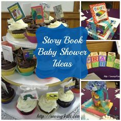 StoryBook Baby Shower Ideas http://saving4six.com/2014/09/storybook-baby-shower-ideas.html