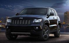 2012 Jeep Grand Cherokee Black Con.