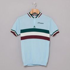 Le Coq Sportif L'Eroica vintage-style cycling shirts « Modculture Cycling Tops, Cycling Gear, Cycling Jerseys, Cycling Outfit, Retro Fashion Mens, Vintage Cycles, Women's Cycling Jersey, Cycling Quotes, Bicycle Design