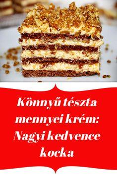 Tiramisu, Food And Drink, Healthy Recipes, Ethnic Recipes, Sweet, Desserts, Cakes, Dios, Hungary
