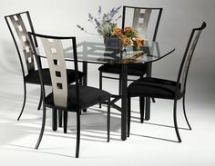 Chintaly Imports Alexis Round Dining Collection $1,000.00