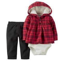 Baby Girl 3-Piece Cardigan Set | Carters.com