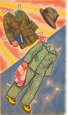 Kathleen Taylor's Dakota Dreams: Thursday Tab- Lowe 1943- Farmer Fred and His Friends