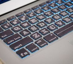 Macbook keyboard decal sticker skin macbook retina by MixedDecal