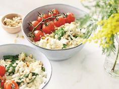 Good Healthy Recipes, Veggie Recipes, Pasta Recipes, Veggie Food, I Love Food, Good Food, Go For It, I Foods, Cobb Salad
