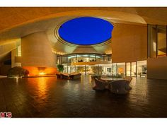 Incredible new price on Bob Hope house located in Southridge the enclave of 19 custom homes hovering over Palm Springs. John Lautner designe...