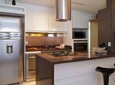 Imagens de cozinhas com bancada marrom