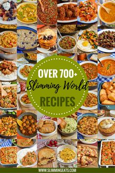 Slimming Eats - over 700+ healthy delicious Slimming World Recipes with a fully searchable index by meal type, ingredients, syn values, pressure cooker, slow cooker, fakeaway etc.