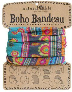 Natural Life Turquoise Boho Bandeau