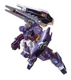 The RX-121-2A Gundam TR-1 [Advanced Hazel] is a mobile Suit from the Gundam Universal Century timeline. Appearing in the Advance of Zeta: The Flag of Titans manga.