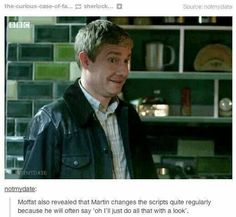 Why Martin Freeman is adorable