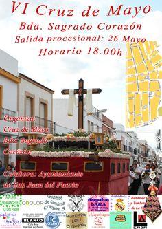 Salida procesional de la Cruz de Mayo