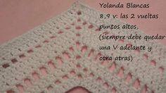 Tutorial poncho crochet