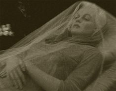 Marilyn Monroe's actual funeral viewing ... eerily and hauntingly beautiful