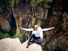 A foto da semana é da @carollucisano curtindo a vista lá de cima...