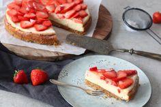 Cheesecake met aardbeien – SINNER SUNDAY