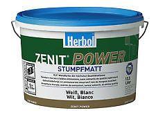 Herbol Zenit Power 10 X 12,5 Ltr. Wandfarbe weiss (Ltr. 4€).