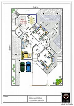 House Floor Design, Home Design Floor Plans, Bungalow House Design, Luxury House Plans, Dream House Plans, House Floor Plans, House Layout Plans, Family House Plans, Home Map Design