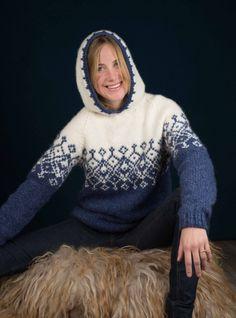 Strikkemekka.no - Betty Genser m/hette av Kari Hestnes Fashion, Threading, Moda, Fashion Styles, Fashion Illustrations