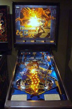 Dungeons & Dragons pinball machine.