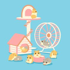 Hamster animation by karimaro