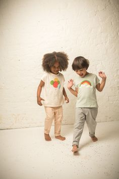 Gorgeous, soft, organic tee's from Little Green Radicals - 'Up & Away' & 'Over the Rainbow'. They are SO soft, I wish they'd do them in adult sizes!