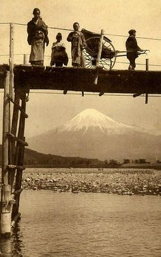 STANDING IN AIR OVER MT. FUJI -- Japan's Sacred Mountain Subdued Under a Bridge | by Okinawa Soba (Rob)