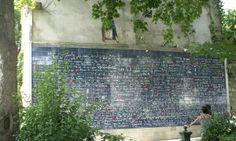 """Muro """"del ti amo"""", Montmartre, Parigi"""