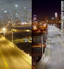 In response to a recent warning by American Medical Association, cities are now opting for street lamps with lower color temperatures, meaning less blue light.
